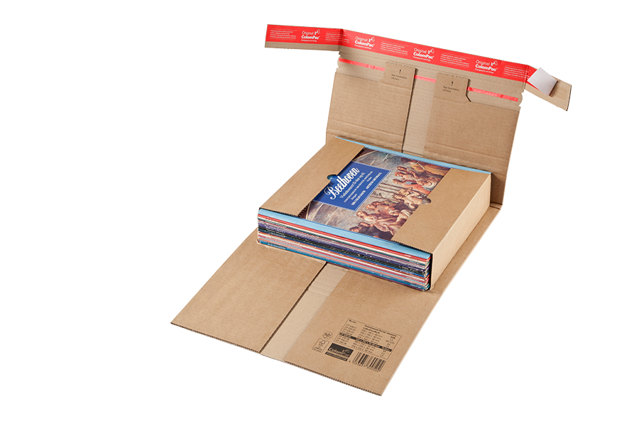 Book mailers and board envelopes and cardboard boxes for ecommerce by ColomPac